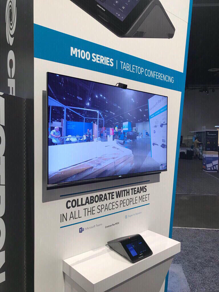 Huddly Iq Launches As Part Of Crestron Flex Uc At Microsoft Ignite M100 Series