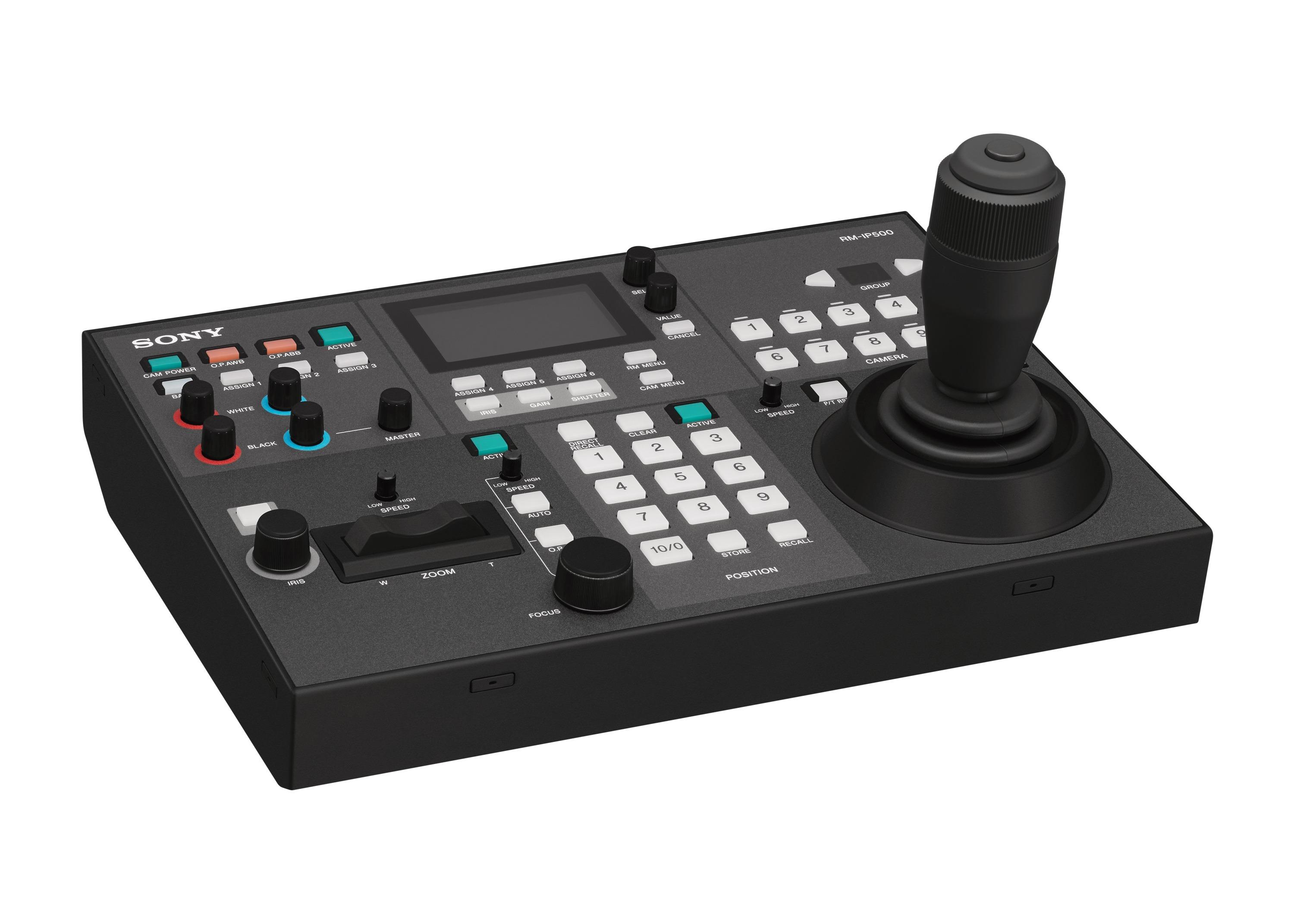 Sony S Rm Ip500 Remote Controller Delivers Greater