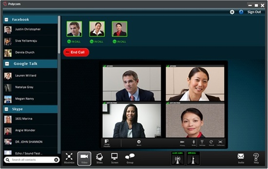 Polycom S Big Announcement A Shotgun Blast Of