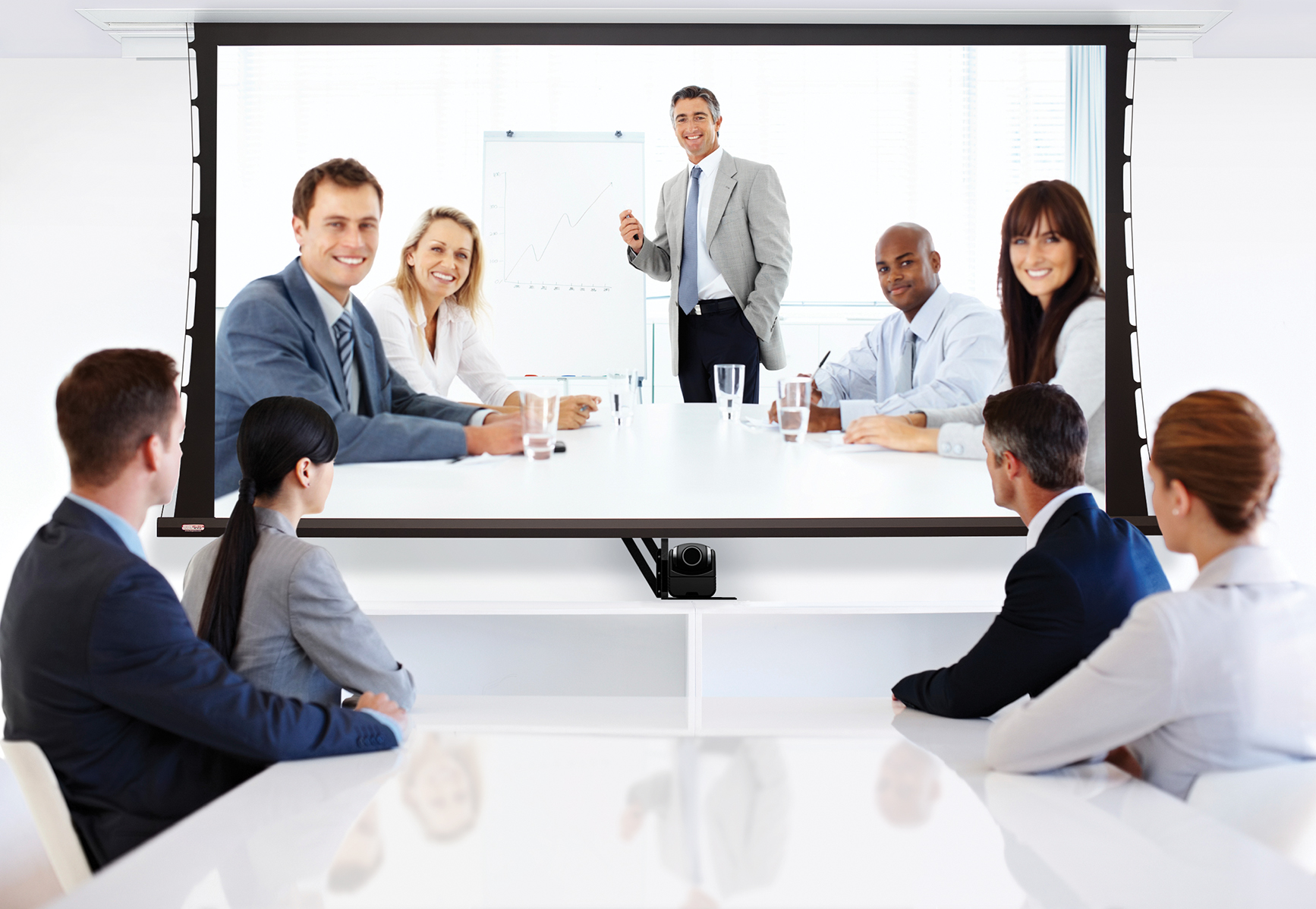 At Its Simplest, Video Conferencing Provides Transmission Of Static Images And Text Between Two Locations.