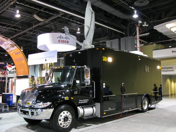 Cisco TACOPS NERV - Network Emergency Response Vehicle