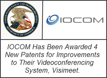 IOCOM Has Been Awarded 4 New Patents