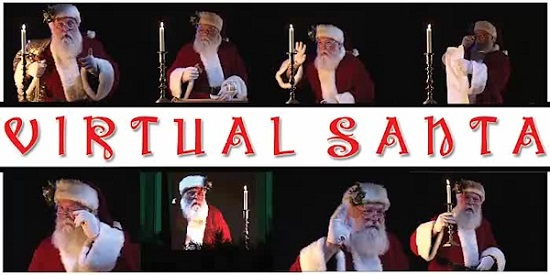 Jon Hyers Virtual Santa