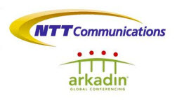 NTT Communications and Arkadin Logos.jpg