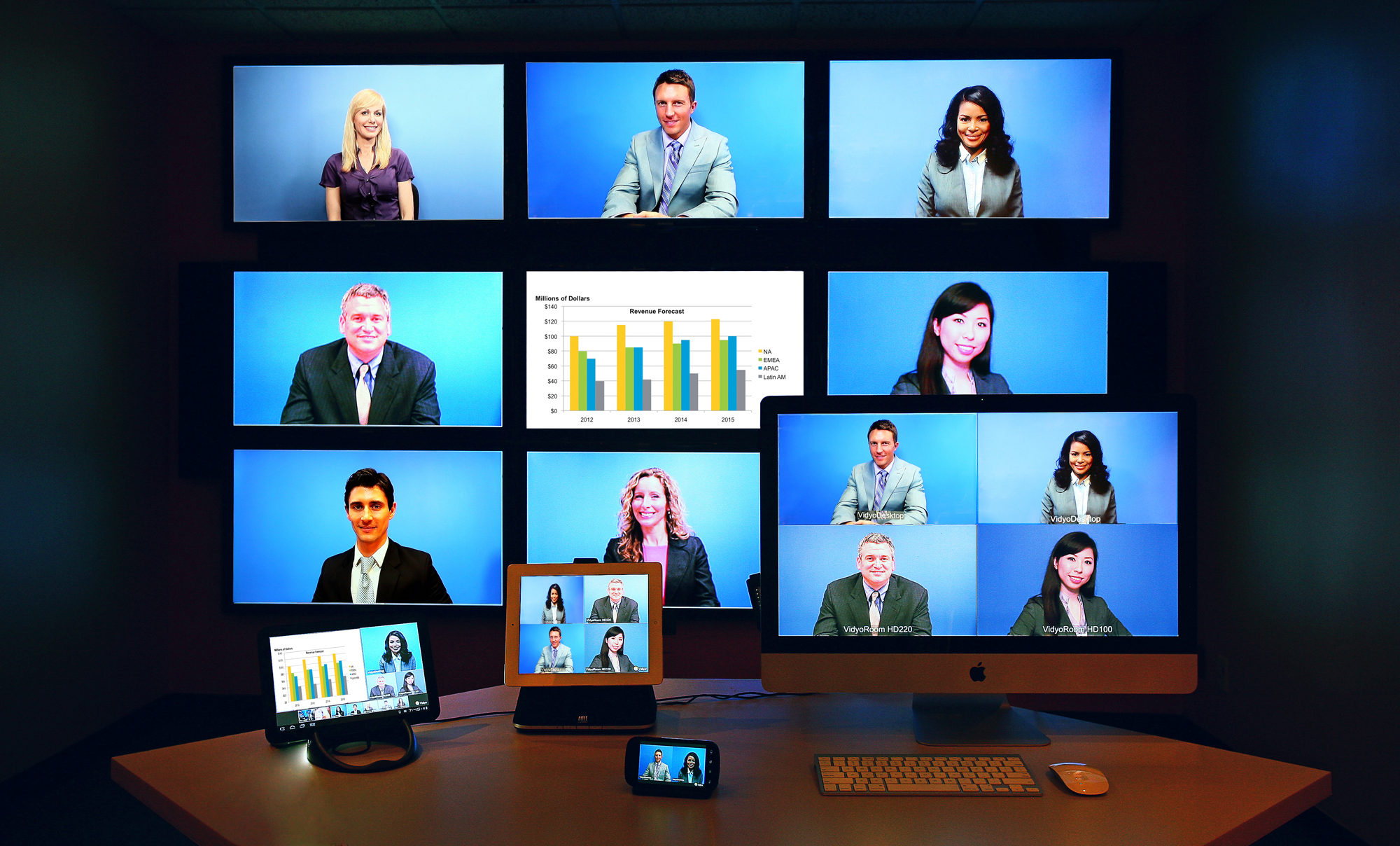 video conference Telepresence helps individuals and businesses around the world be more productive by enabling face-to-face collaboration.