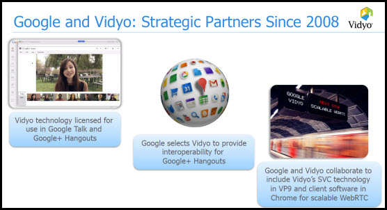 Vidyo H20: Interop for G+ Hangouts (Google Goes Back to the