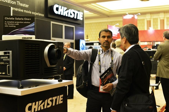 christie digital booth