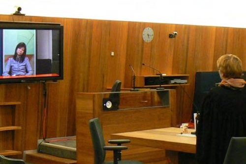 court room video testimony