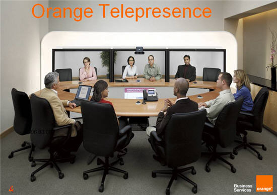Orange Business Services Rolls Out TelePresence
