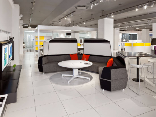 Steelcase Projection Video Will Become A Dominant Form Of