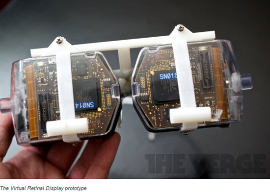 virtual-retinal-display-prototype