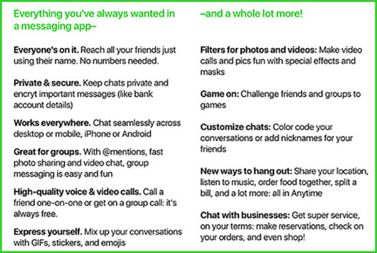 amazon-anytime-chat-app-feature-list.png
