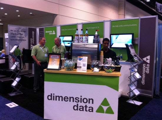 Dimension Data Booth