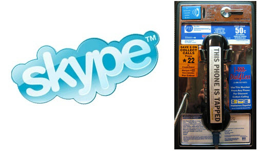 Skype - This Phone is Tapped